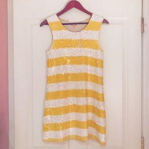 Alice + Olivia sequin stretch dress Small/Medium
